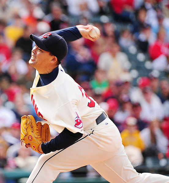 The Indians signed the Japanese pitcher before the 2008 season, and he spent parts of the next two years as a reliever for Cleveland. Kobayashi went 4-5 with a 5.10 ERA in two seasons in the major leagues. He signed with the Yomiuri Giants and returned to Japan for the 2010 season.