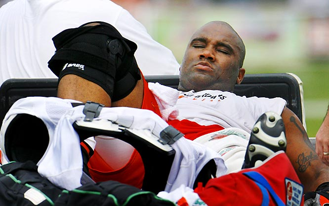 The two-time Pro Bowl center and Ohio native chose not to re-sign with the Saints so he could play for his beloved Browns. Unfortunately, he tore the patellar tendon in his left knee during training camp, yet another in the franchise's storied list of injured players.