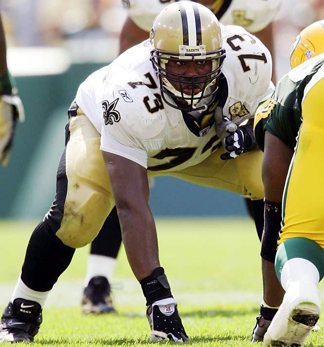Rd. 4, Bloomsburg <br><br>Saints have allowed fewest sacks in NFL