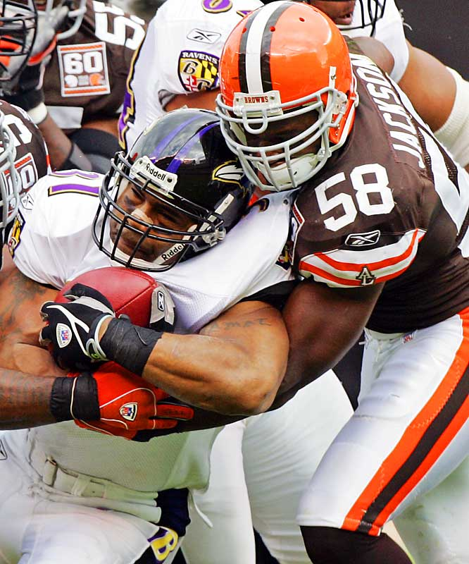 Rd. 2, Maryland <br><br>10-tackle games vs. Saints, Panthers