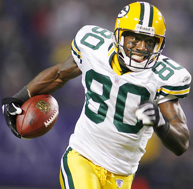 191 ... Donald Driver of the Packers totaled 191 receiving yards on just six receptions against the Vikings, the most yards on six or fewer receptions in five years, since Eric Moulds of the Bills was 6-for-196 against the Dolphins on Nov. 25, 2001.