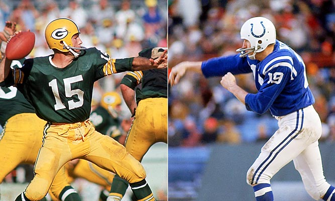 Unitas and Starr were very close friends, but they battled for dominance in the NFL throughout the 1960s. The tide turned in 1960 during a regular-season game in which the Packers intercepted Unitas, the QB for the two-time defending champion Colts, four times in a victory. Green Bay went on to dominate the decade, although Unitas' Colts were consistently near the top of the league.