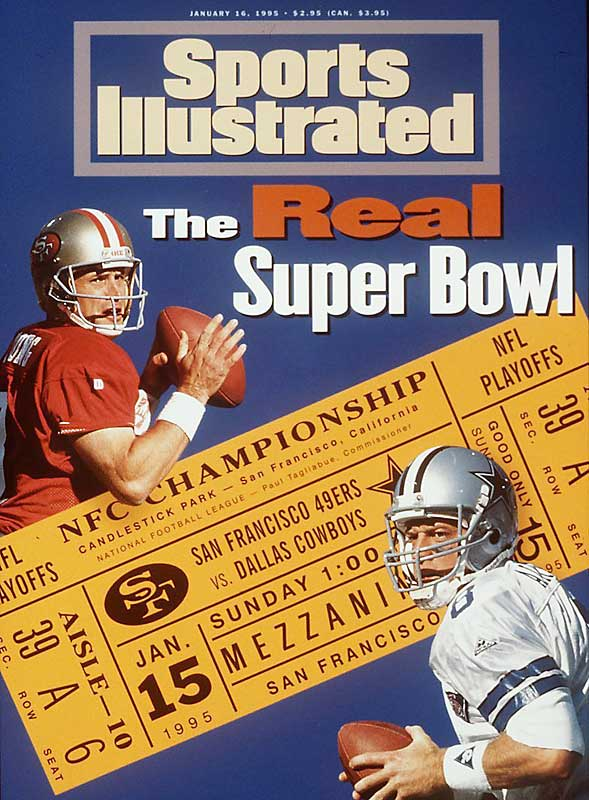 Along with Brett Favre, Aikman and Young were the dominant quarterbacks of the 1990s, and usually when they faced each other, the stakes were very high. Aikman's Cowboys beat Young's 49ers in the 1992 and 1993 NFC Championship Games, while Young got revenge in the 1994 NFC Championship Game. Both had outstanding talent around them, but it was their leadership and calm under pressure that made their teams regular Super Bowl contenders.