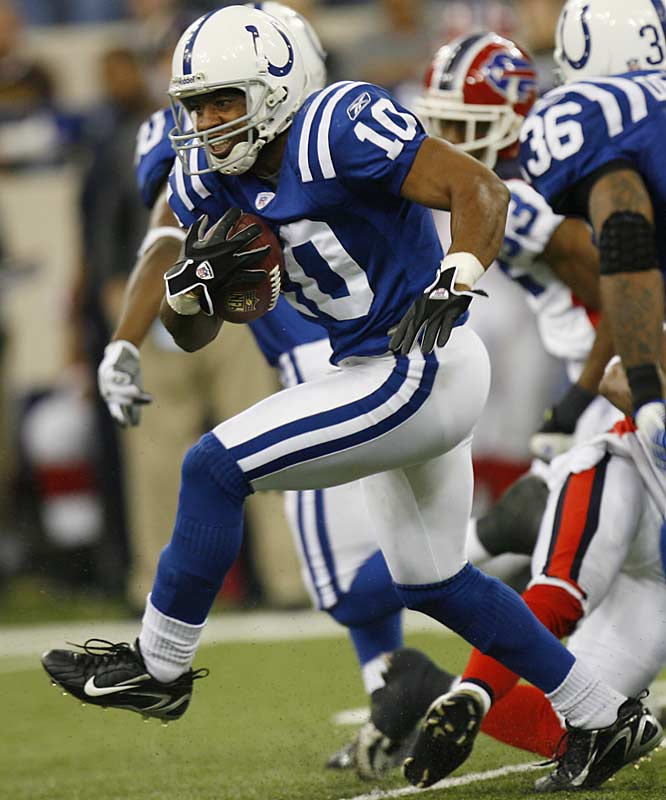 Terrence Wilkins returned five kickoffs for 116 yards to boost Indianapolis in its victory over Buffalo. The Colts became the first NFL team to start 9-0 in back-to-back seasons and have won 31 of their past 34 regular season games.