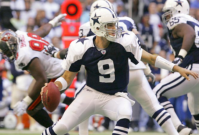Tony Romo tied a team record with five touchdown passes against Tampa Bay on Thursday. The Cowboys are 4-1 since Romo was named the starting quarterback.