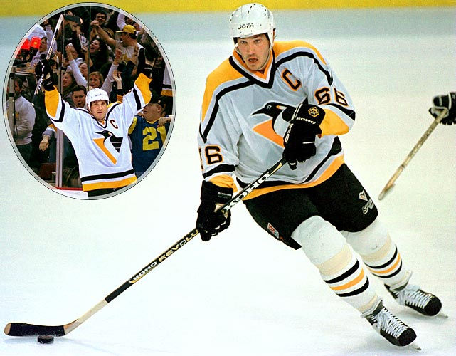 <b>NHL seasons:</b> 18 (1984-97, 2000-05)<br><b>Team:</b> Penguins