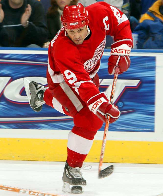 <b>NHL seasons:</b> 23 (1983-2006)<br><b>Team:</b> Red Wings