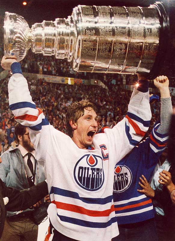 The Stanley Cup followed in 1984 as the Oilers dethroned the four-time defending champion New York Islanders. It was the first of Edmonton's four Cups, with the Great One spearheading their often breathtaking offense.