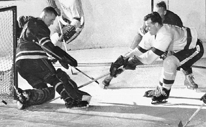 The future Mr. Hockey scored a modest seven goals and 22 points in 58 games and would need another two seasons before he cracked the 20-45 mark. But once he finally got going, Howe turned out to be pretty good.