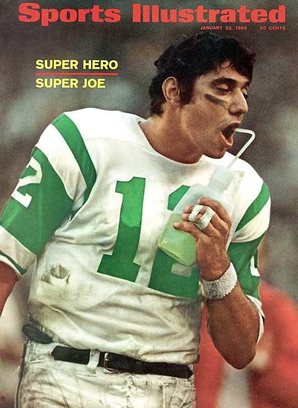 Joe Namath SI cover, 1969.