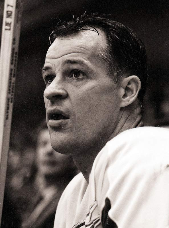 Gordie Howe during a game against the Rangers, 1964.