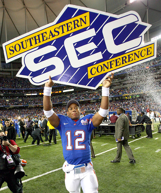Florida quarterback Chris Leak became the Gators' all-time career passing leader as they made their case for a shot at the national title in winning the SEC crown.