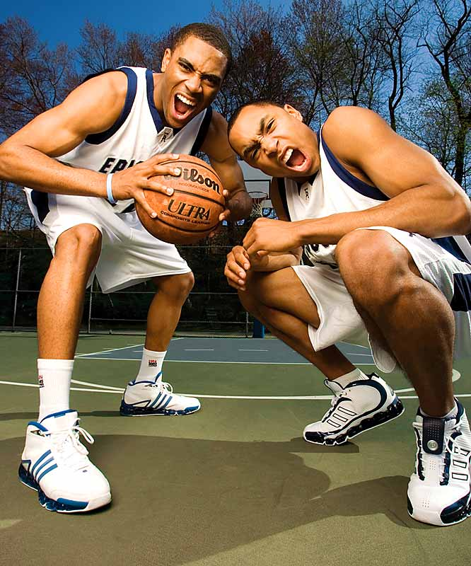 Episcopal Academy (Merion, Pa.) superstars Wayne Ellington (left) and Gerald Henderson were two of the nation's top recruits in the Class of 2006. Ellington is now playing for North Carolina, while Henderson plays for Duke.