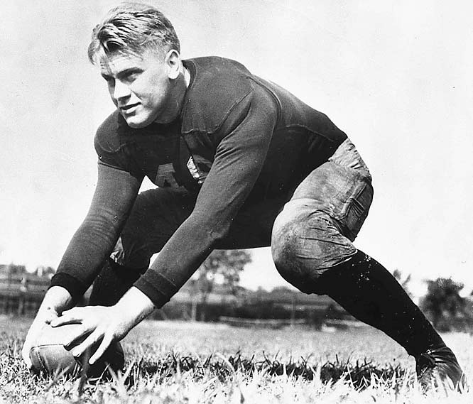 Coming out of college, Ford had offers to play for the Detroit Lions or Green Bay Packers for $110 per game, but the future president chose instead to pursue a law degree at Yale.