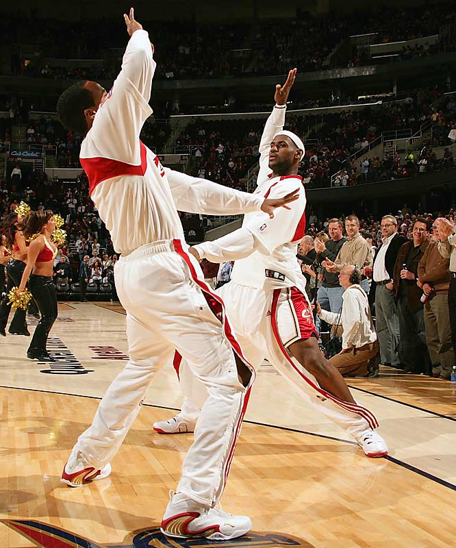 LeBron James and Damon Jones let the fans decide which one of them should go on the next edition of Dancing with the Stars.