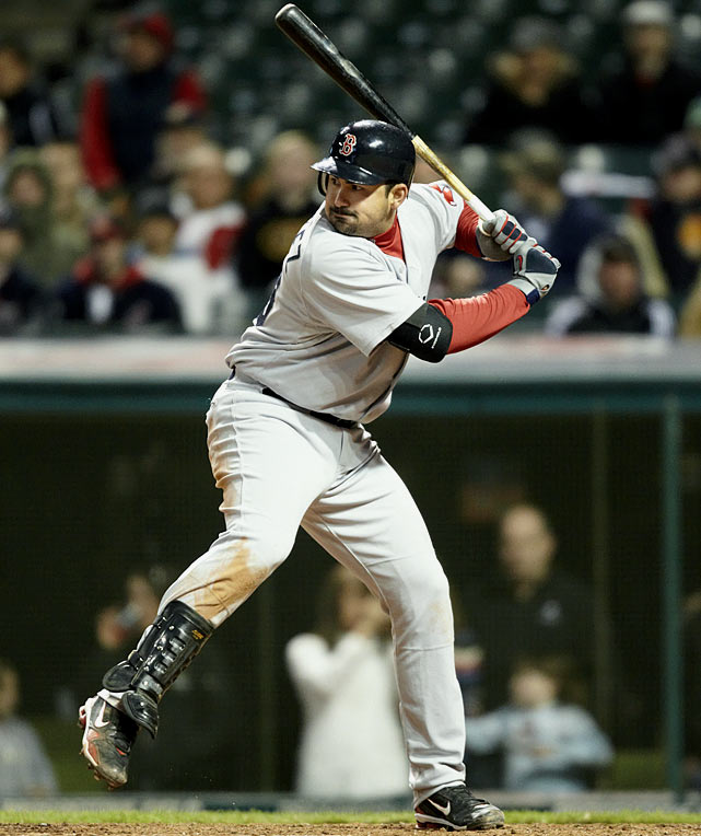 Four months after acquiring Adrian Gonzalez from the San Diego Padres, the Red Sox signed the first baseman to the largest deal ever given by the club's current ownership. Manny Ramirez's eight-year, $160 million deal was signed by the club's previous owners. Gonzalez, 28, receives a $6 million signing bonus, $21 million per year from 2012-16 and $21.5 million per year in 2017 and 2018. From 2006-10 with the Padres, Gonzalez averaged 32 homers and 100 RBIs, with a .288 batting average and a .374 on-base percentage.