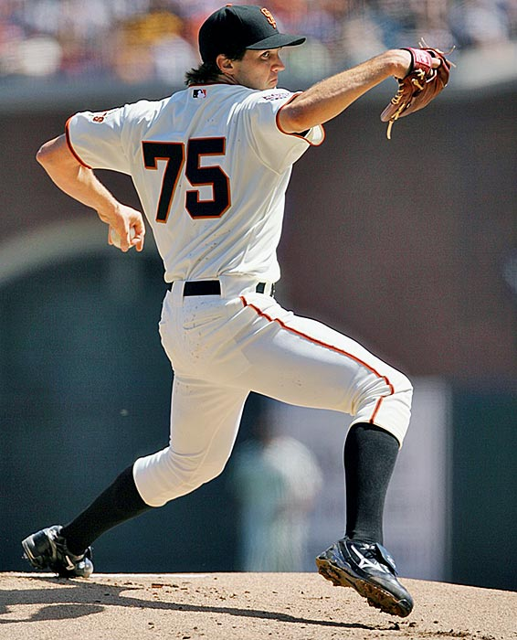 The last remaining member of Oakland's Big Three finally left for the crosstown Giants before the 2007 season by accepting the largest deal ever at the time for a pitcher, eclipsing the old mark held by Mike Hampton (eight years, $121 million with the Rockies). In his first four seasons with San Francisco, Zito has gone just 40-57 with a 4.46 ERA.