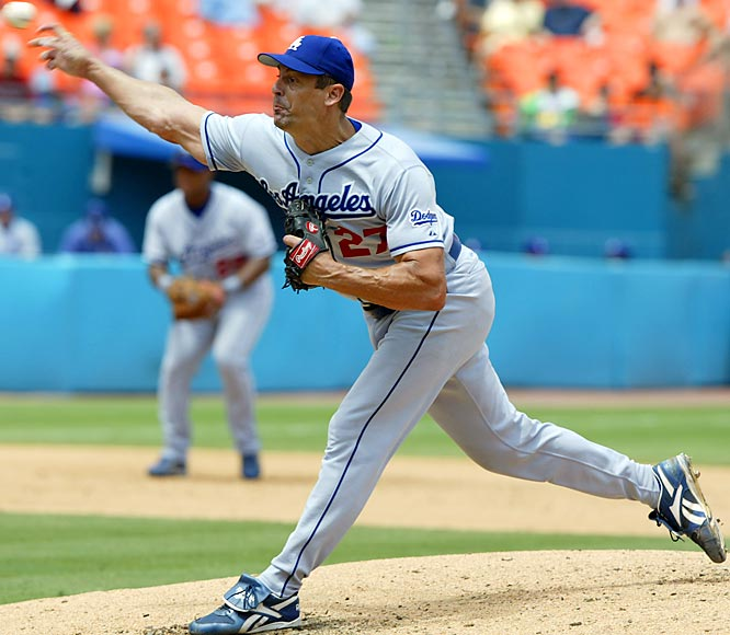 The Dodgers lured Brown away from the Padres in free agency after the 1998 season with the biggest contract in history at the time. Brown pitched well, though not spectacularly, for the Dodgers in parts of five non-playoff seasons before being traded to the Yankees.