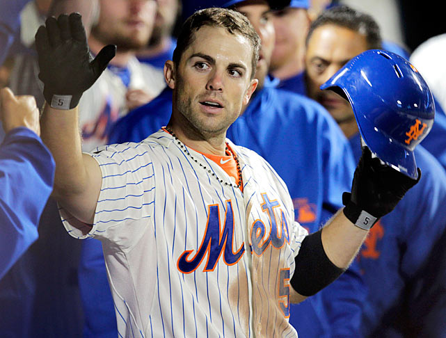 New York Mets third baseman David Wright agreed to the richest contract in franchise history on Nov. 30, 2012. The deal replaced Wright's $16 million salary for 2013 and includes $122 million in new money. A homegrown fan favorite and the face of the franchise, Wright is the club's career leader in several major offensive categories including hits, RBIs, runs and walks.
