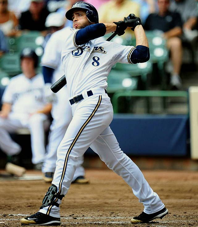 The Brewers signed Braun to a five-year contract extension in April 2011 that guarantees the All-Star an additional $105 million on top of his current deal and will run at least through the 2020 season. Braun gets a $10 million signing bonus and will make salaries of $19 million in 2016-18, $18 million in 2019, $16 million in 2020. The mutual option for 2021 is worth up to $20 million with a $4 million buyout. Braun signed a $45 million, seven-year extension in 2008 after winning the NL Rookie of the Year in 2007, which was the largest contract ever by a player with less than one year of service time.