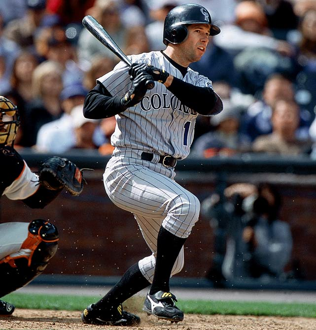 With player salaries skyrocketing in 2001, the Rockies thought they should lock up the star first baseman for an entire decade. Helton had been in decline in recent years before helping to lead the Rockies to the 2007 NL pennant.