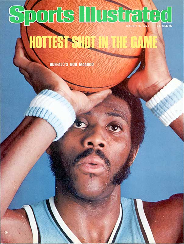 McAdoo's first three seasons in Buffalo were stellar (30-plus point averages, MVP honors in 1975), but a change in Braves ownership led to his being traded to the Knicks in a three-player deal on Dec. 9, 1976. McAdoo, who played for seven teams in his 13-year career, was involved in two other midseason trades (1979, 1981).