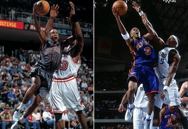 """""""Starbury"""" has been involved in two midseason deals, the first coming on March 11, 1999, in a three-team, eight-player deal that sent him to New Jersey and also included fellow point guards Sam Cassell and Terrell Brandon. An offseason deal in 2001 sent him to Phoenix, and after 2 1/2 years, the Suns dealt him to Isiah Thomas' Knicks in a multiplayer deal on Jan. 5, 2004."""