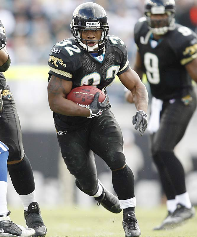 Last Week: Unranked<br><br>The Colts' run defense stinks, but you still have to give Maurice Jones-Drew credit for his masterful performance last Sunday against Indy. Jones-Drew ran for 166 yards and two touchdowns and returned a kick for a score in Jacksonville's 44-17 victory. Jones-Drew leads all rookies with 12 touchdowns.