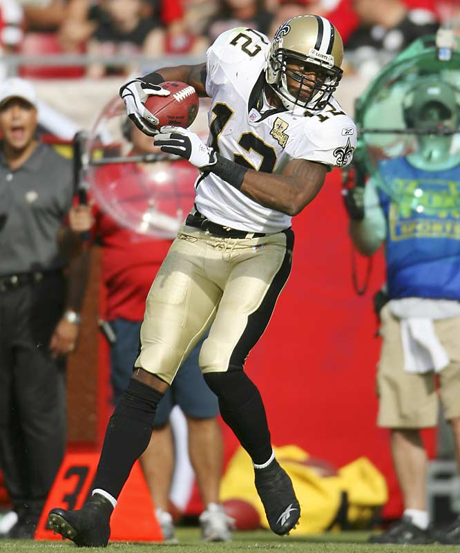 Last Week: 7<br><br>The impressive rookie out of Hofstra kicks off our Rookie Watch this week. Unfortunately for Colston, he's fallen back in the race for Rookie of the Year. He finally returned to the lineup after a nagging ankle injury last week against Dallas and caught five passes for 48 yards. However, the Saints' continued to put up a ton of points without Colston, which might signify he's not as important to the offense as he appeared to be before the injury.