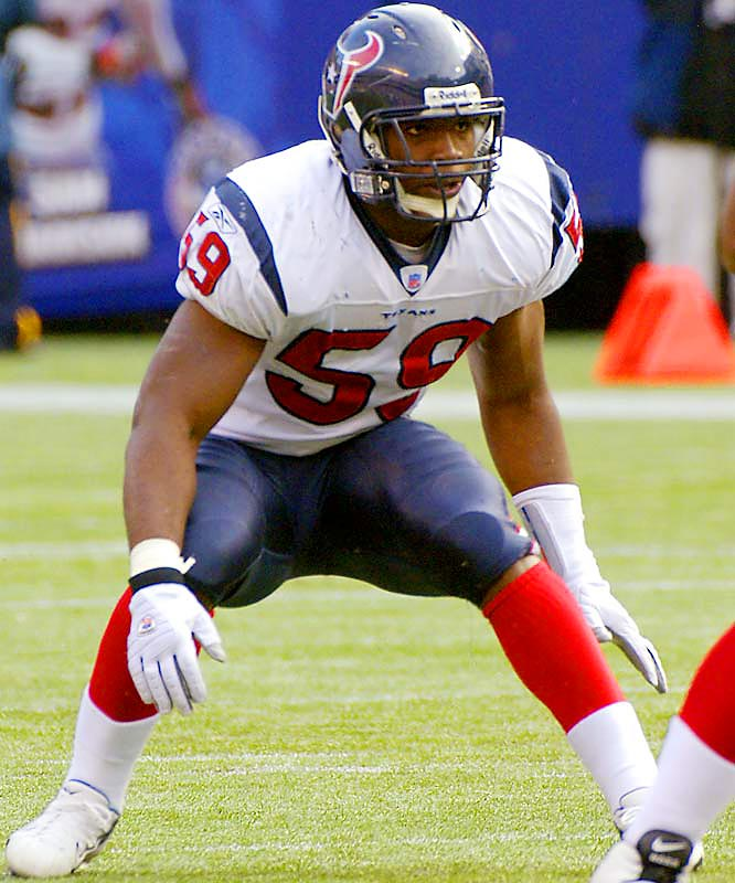 Last Week: 3 <br><br>Ryans, second in the NFL with 143 tackles, is still the front-runner for Defensive Rookie of the Year award and has helped the Texans improve dramatically. Ryans helped Houston beat Indianapolis 27-24 last Sunday.
