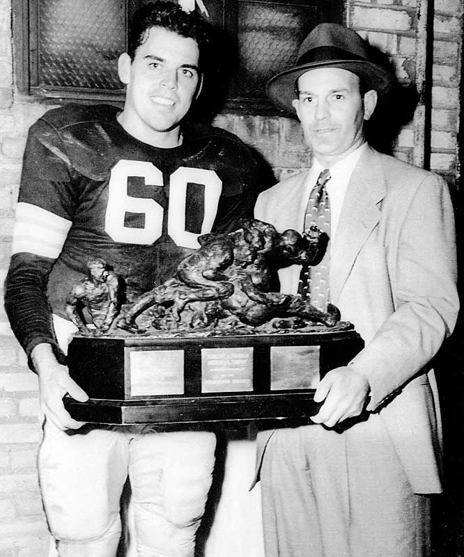 Going strictly by results, the pairing of Brown and Graham in Cleveland has no peers. They were together for 10 years in pro football (four in the AAFC, six in the NFL), and went to the championship game of their league every year, winning seven times (four in the AAFC, three in the NFL). Their 105-17-4 record in that decade seems unbreakable.