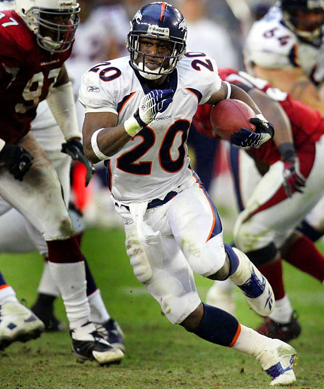 Mike Bell rushed for 61 yards on 16 carries, including a pair of one-yard touchdown runs, during Denver's highest-scoring performance of the season.