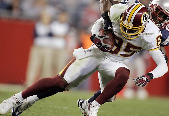 Every year the Redskins spend a ton of money, and every year their huge signings are disappointments. This season they made Adam Archuleta the highest-paid safety ever, and he lost his starting job. High-priced receivers Brandon Lloyd and Antwaan Randle El have combined for 49 receptions and 619 receiving yards and three touchdown catches.