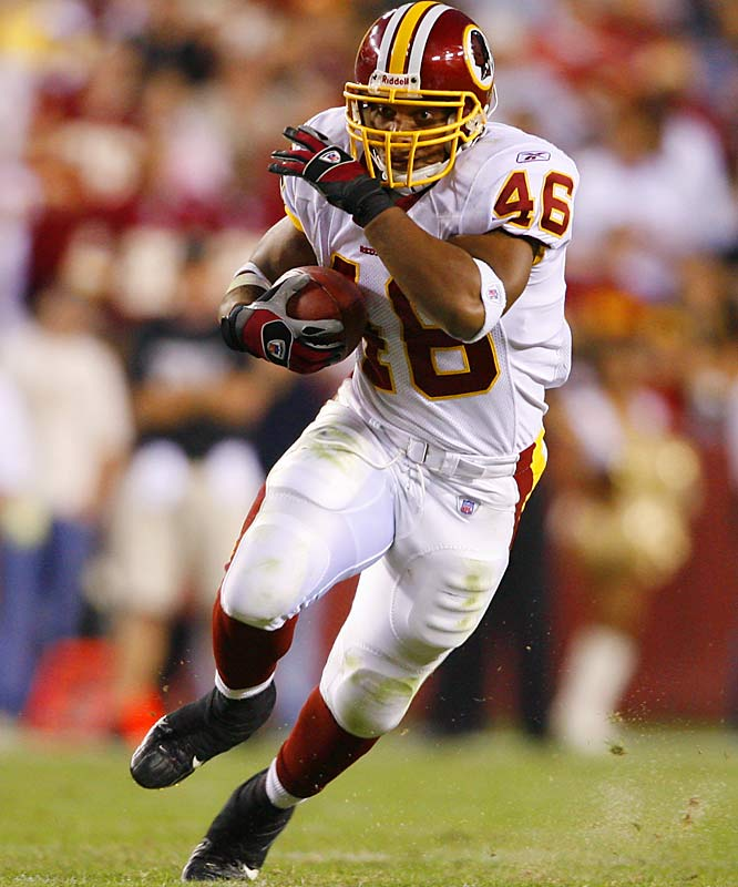 100 ... Redskins running back Ladell Betts has five straight games with 100 or more rushing yards. In his first 4 1/2 NFL seasons, he never had a streak of five straight games with 12 or more rushing yards.