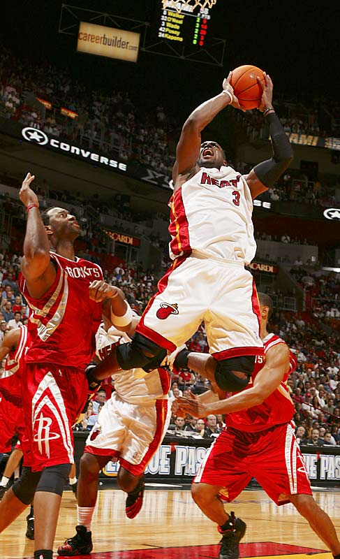 A highly religious person, Wade wears the number three because it represents the Holy Trinity.