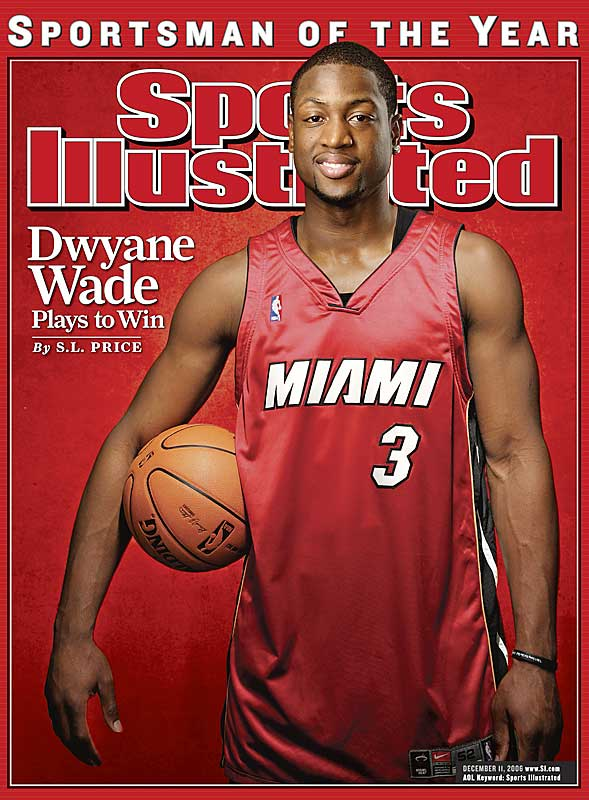 At 24, Wade is the youngest NBA player to win the award. The other NBA winners were Bill Russell (1968), Kareem Abdul-Jabbar (1985), Michael Jordan (1991) and Tim Duncan and David Robinson (2003).