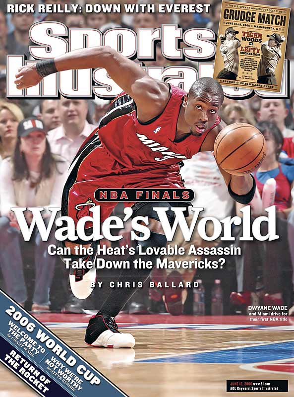 Wade led the Miami Heat to their first championship last year and was named the Finals MVP.