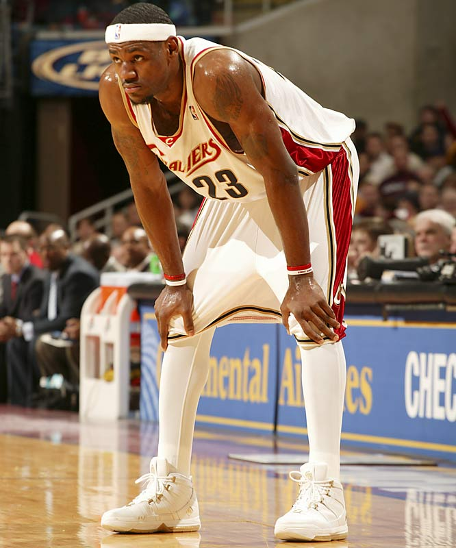 King James wasn't the first to don tights, but shortly after he did, the NBA started drafting language to make sure the leggings didn't become a fashion craze. The NCAA wasn't far behind.