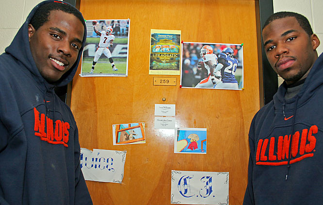 Isiah Williams and Chris James -- known to everyone as Juice and CJ -- have played football together since junior high. So when both Chicago natives signed with Illinois last February, it only made sense they would room together the following fall. Four games into the season, Williams won the role of Illinois' starting quarterback. By the time November rolled around, James had joined him at the top of the depth chart, starting at receiver. Now Illinois is gearing up for the arrival of what is considered one of the top recruiting classes in the NCAA -- and Juice and CJ are getting ready for their sophomore season.