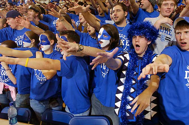 Duke fans are on Cloud 9 as the Lady Devils defeated previously undefeated Maryland, 81-62, on Saturday.
