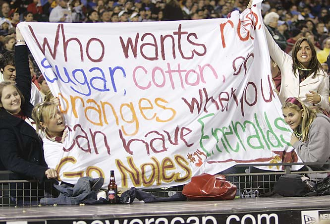 FSU fans try to put a positive spin on the Seminoles Emerald Bowl appearance.