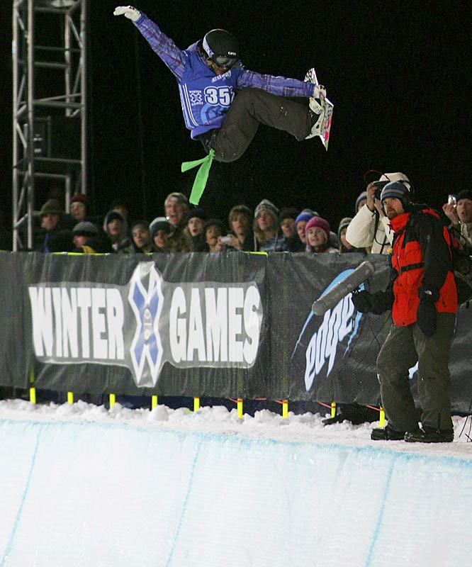 Even though Gretchen Bleiler's frontside 900 wasn't good enough for gold, she did rank eighth in SI.com's Best-Looking Athletes list (see link below).