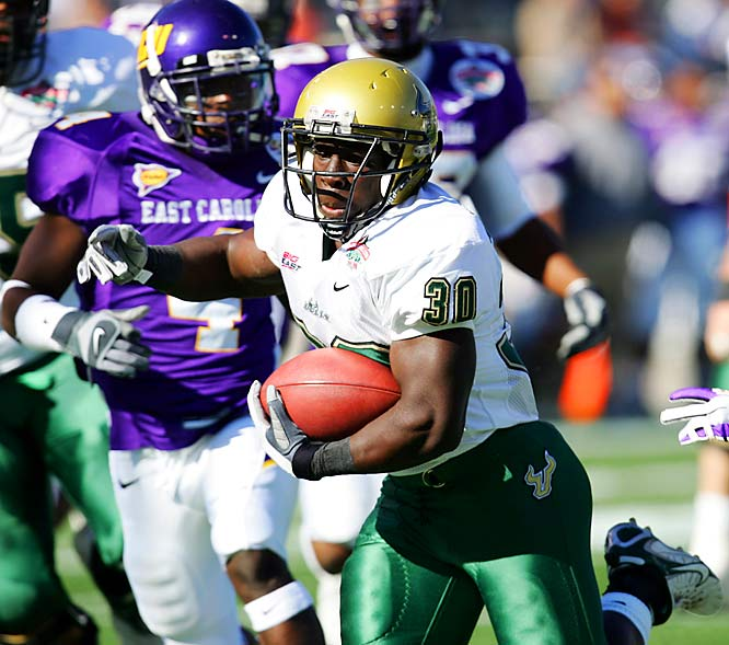 Behind RB Benjamin Williams, South Florida jumped to a 14-0 lead and nabbed its first bowl victory.