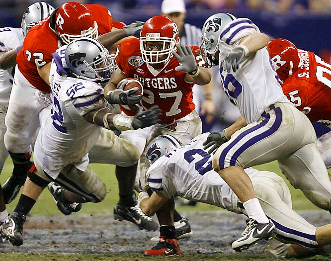 Rutgers earned its 11th win (and notched its first bowl win ever) by once again riding RB Ray Rice.