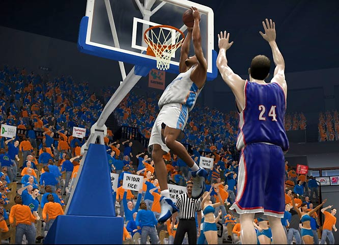 Much like in real life, the defending national champion Florida Gators dominate in the paint.