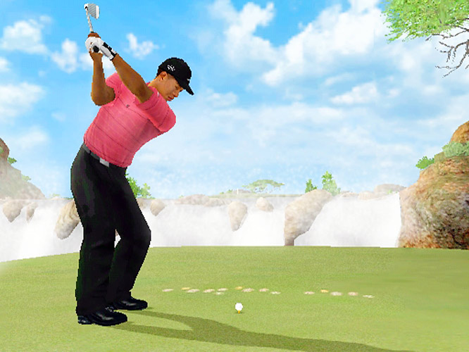 Thanks to the unique Wii controller, you actually have to perform a real golf swing in your living room if you want Tiger Woods to do the same thing in the video game. The downside? You  have to use your real golf swing. That slice that shows up on the real course will manifest itself here too. Just look at it as an opportunity to work on your game. This game is due out March 1.