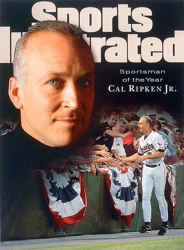SI named Ripken, baseball's new Iron Man, the Sportsman of the Year.