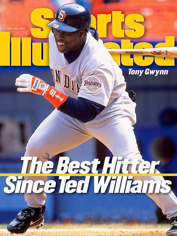 Gwynn made his first and only cover of SI on July 28, 1997.