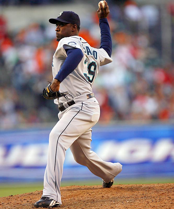 The Braves traded for hard-throwing Rafael Soriano in an effort to rebuild a bullpen that blew more saves than any other in baseball last year. Soriano struck out 65 batters in 60 innings of work for the Mariners in 2006.