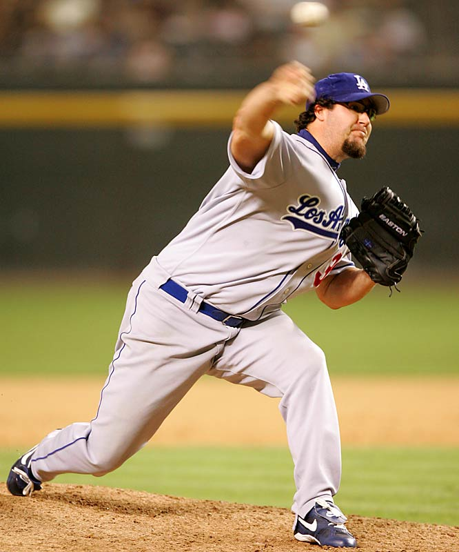 For most of three years, from 2002 to 2004, former Dodgers closer Eric Gagne was hands-down the best in the game. Injuries cost him most of the past two seasons -- he appeared in only two games last year -- but the Rangers have given him an incentive-heavy contract and a chance to rebuild his rep.